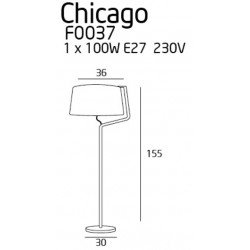 Lampadar  Maxlight CHICAGO F0037
