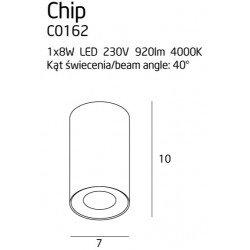 Plafoniera  Maxlight CHIP C0162