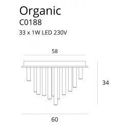 Candelabru  Maxlight ORGANIC PL C0188