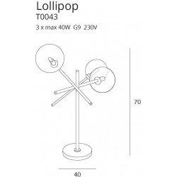 Lampa birou  Maxlight LOLLIPOP BK T0043