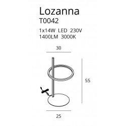 Lampa birou  Maxlight LOZANNA T0042