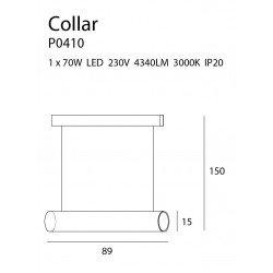 Lustra  Maxlight COLLAR P0410