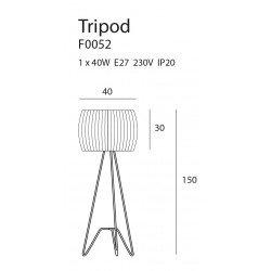 Lampadar  Maxlight TRIPOD F0052