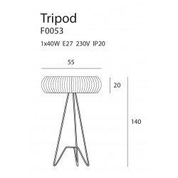 Lampadar  Maxlight TRIPOD F0053