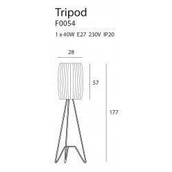 Lampadar  Maxlight TRIPOD F0054