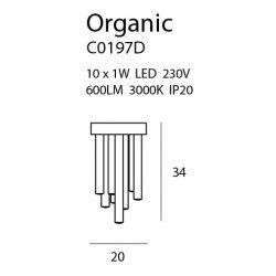 Candelabru  Maxlight ORGANIC PL 0 C0197D