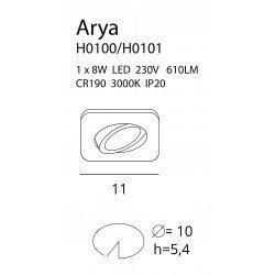 Spot  Maxlight ARYA SQUARE H0101