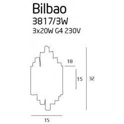 Aplica  Maxlight BILBAO 3817/3W