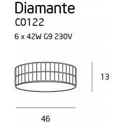 Candelabru  Maxlight DIAMANTE C0122