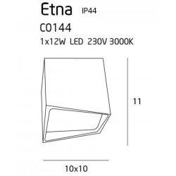 Plafoniera  Maxlight ETNA C0144