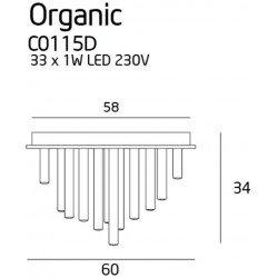 Candelabru  Maxlight ORGANIC PL C0115D