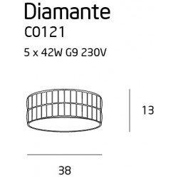 Candelabru  Maxlight DIAMANTE C0121
