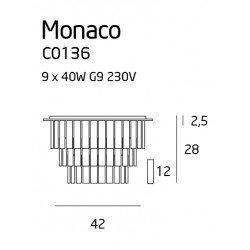Candelabru  Maxlight MONACO C0136