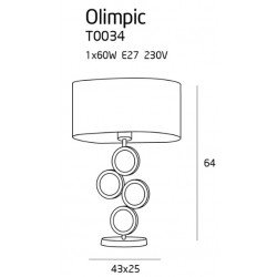 Lampa birou  Maxlight OLIMPIC T0034
