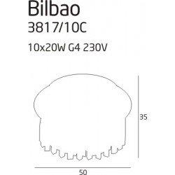 Candelabru  Maxlight BILBAO 3817/10C