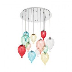 Lustra CLOWN-SP12-COLOR IDEAL LUX