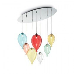 Lustra CLOWN-SP7-COLOR IDEAL LUX